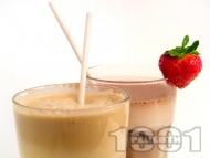 Рецепта Шоколадово фрапе с инстантно (нес кафе) и какао